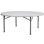 "WHOLESALE 60"" Round MICHIGAN Plastic Folding table,  Texas Prices Round Plastic Folding Tables,  Banquet Resin Tables,,"