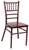 Mahogany Aluminum Chair, Wholesale Prices Aluminum Chiavari Chair