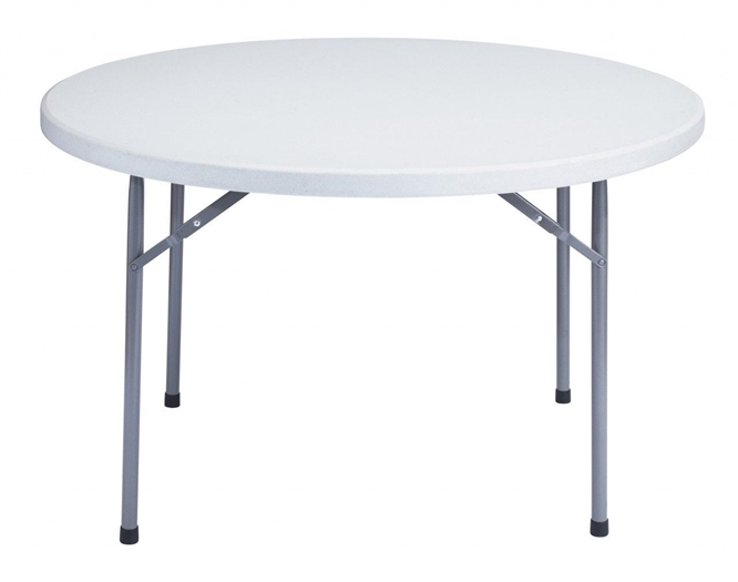 "48"" Round Folding Tables, Plastic Tables, Folding Stackikng Tables, Plastic Resin Tables, Folding Chairs,  Tables"