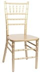 Wedding Gold Wood Chiavari Chair Wholesale Prices