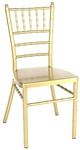 Gold Chiavari Aluminum Chair