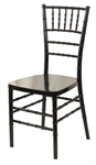 Chiavari Resin Black Chair
