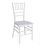 White Resin Chair -Cheap Resin Chiavari chair