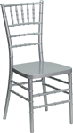 Discount Prices Silver Resin Chiavari Chairs