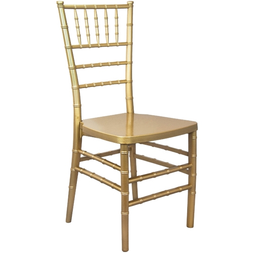 Gold Resin Chair -Cheap Resin Chiavari chair
