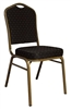 Lowest Prices Banquet Chairs - Black Banquet Crown Back Chair