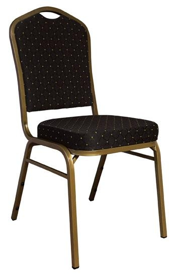Lowest Prices Banquet Chairs - Black Banquet Crown Back Chairs