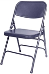 "<span style=""FONT-SIZE: 12pt"">Blue Metal Folding Chairr</span>"