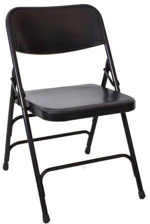 Terrific Black Metal Folding Chair Ibusinesslaw Wood Chair Design Ideas Ibusinesslaworg