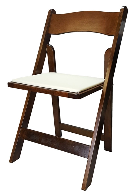 Fruitwood Nebraska Wood Folding Chairs Freewood Wooden Chairs