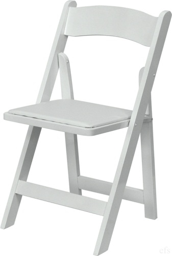 White lowest prices for Wholesale wood folding Chairs