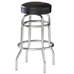 "<SPAN style=""FONT- WEIGHT:bold; FONT-SIZE: 11pt; COLOR:#008000; FONT-STYLE:"">Double Ring Chrome Barstool <SPAN>"