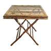 Bamboo Square Closed Table