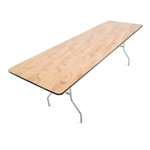 DISCOUNT PRICES Wood 30 x 96 Table