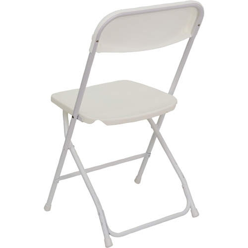Attrayant WHITE POLY FOLDING CHAIR ...