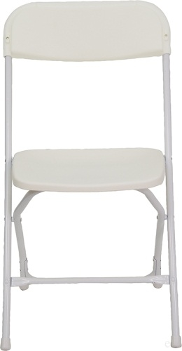 Low Prices White Plastic Folding Chair