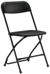 Free Shipping BLACK Folding Chairs | Miami Plastic Folding Chairs | White Folding Chair