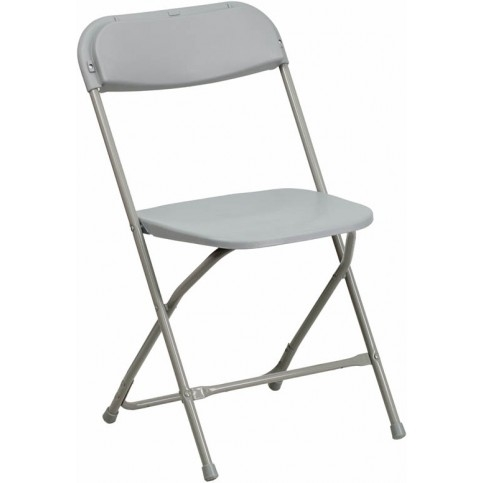 Gray  Plastic Folding Chair, Poly Brown Wholesale Chairs, lowest prices plastic folding chair