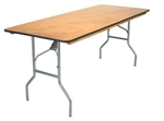 30 x 96 Wood Folding Table, Banquet Cheap Wholesale Tables, Lowest prices Plywood Table