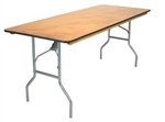 Discount Prices 30 x 96 Plywood Folding Table,