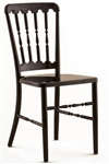 Black Aluminum Versailles Chair at Discount Prices