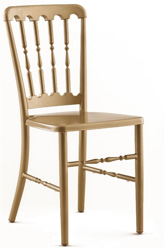 VERSAILLES GOLD ALUMINUM CHAIR ...  sc 1 st  Folding Chairs Tables Discount & Metal Gold Versailles Chair Wholesale Price Stacking Chair ...