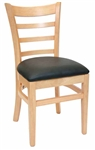 "<SPAN style=""FONT- WEIGHT:bold; FONT-SIZE: 11pt; COLOR:#008000; FONT-STYLE:"">Natural Ladder Back Chair - Free Cushion <SPAN>"