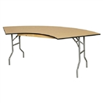 plywood wood folding table,  Wisconsin Folding Tables