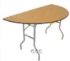 wood folding tables, folding plywood tables, wedding wood tables, woood banquet tables, round tables,
