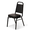 Banquet Chair Black Vinyl CUSHION