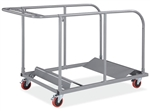 Folding Table Cart