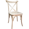 Free Shipping  X Back Banquet Chair LimeWash