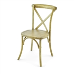 Discount NATURAL CROSS BACK X Back Banquet Chairs