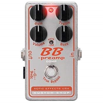 Xotic BB Preamp COMP Silver Pedal on