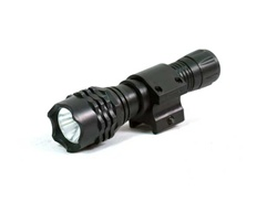 Tactical Flashlight with rail mount