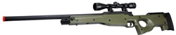AGM AWP L96 Sniper Rifle with Scope (Green)