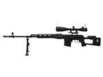 A&K SVD Dragunov XL AOE Scope and Bi-pod Package Spring Airsoft Sniper Rifle