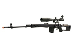 A&K SVD Dragunov AOE Scope Package Spring Airsoft Sniper Rifle