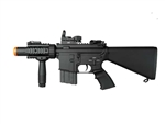 A&K M4 CQB-03 with Suppressor Airsoft Electric Gun with Red Dot Pacakge