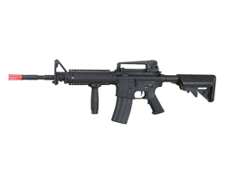 A&K M4 RIS Full Metal Airsoft Electric Gun with Vertical Grip and Rail Covers (Black)