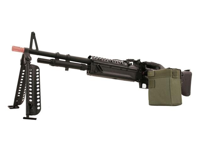 A&K M60 Machine Gun Full Metal Airsoft Gun