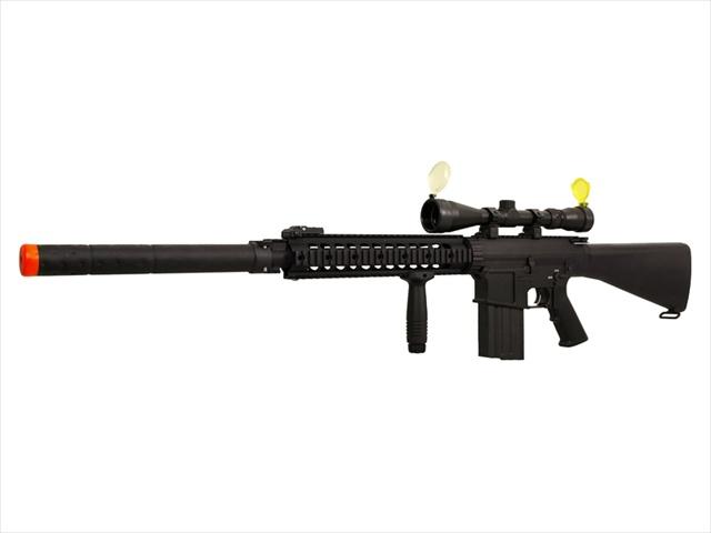 AK S 25 Sniper Rifle Full Metal Airsoft Gun Scope Package
