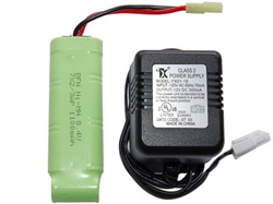 8.4v Charger and 8.4V 1100 mAh Battery