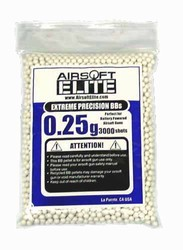 0.25g Airsoft Elite BB 6mm 3000 Bag