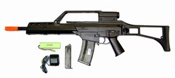 BE G36K Electric Airsoft Gun Rifle MPEG