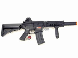 Dboy M4 CQB Carbine with sliencer Full Metal Body Airsoft Electric Gun BI-3881M