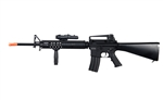 Dboy M16 RIS Full Metal Electric Airsoft Battle Rifle with PEQ Box and Vertical Grip [BI-5581]