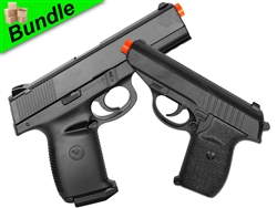 Hit Gal Bundle with G3 Metal Sub-Compact Spring Pistol and M27 Tactical Reload Spring Pistol