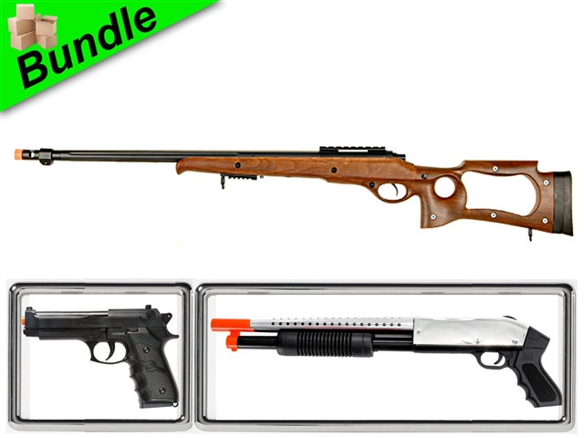 safari bundle with mb10w hunting bolt action spring rifle m600