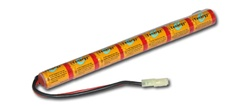 8.4v 1600mAh Ni-mh Stick Battery mini type from Tenergy, top quality product, prolonged life time. 7 cell 8.4v.